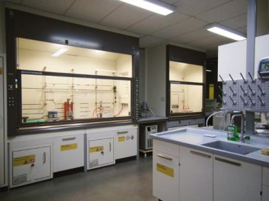 Chemical laboratory Mersen